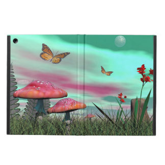 Funda Para iPad Air Jardín de la fantasía - 3D rinden