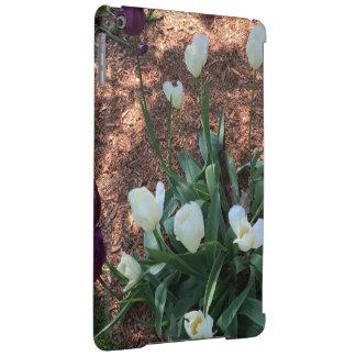 Funda Para iPad Air Jardín de las flores blancas como la nieve del