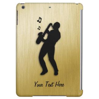 Funda Para iPad Air Jugador de saxofón de oro