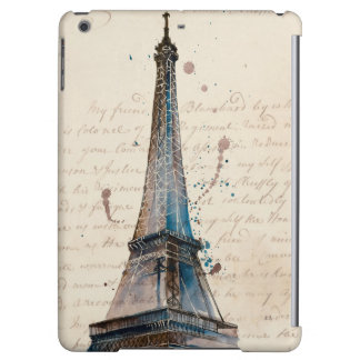 Funda Para iPad Air Letras de Eiffel