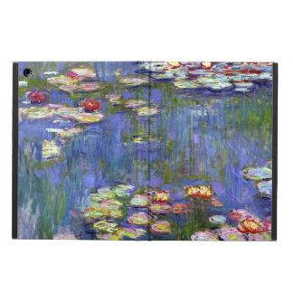 Funda Para iPad Air Lirios de agua de Claude Monet