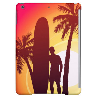 Funda Para iPad Air Longboard y palmas