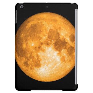 Funda Para iPad Air Luna Llena anaranjada