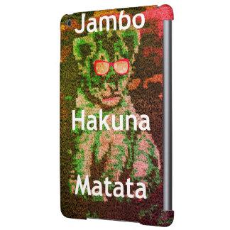 Funda Para iPad Air Matata precioso del hakuna del cachorro de león de