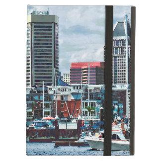 Funda Para iPad Air MD de Baltimore - Horizonte de Baltimore en el río
