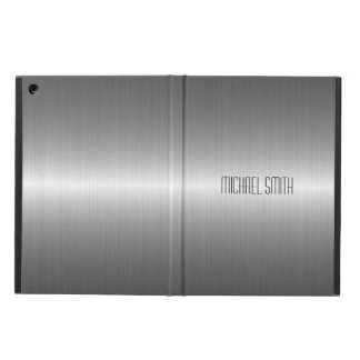 Funda Para iPad Air Metal de plata del acero inoxidable
