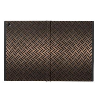 FUNDA PARA iPad AIR METAL NEGRO DEL MÁRMOL WOVEN2 Y DEL BRONCE (R)