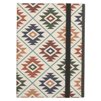 Funda Para iPad Air Mezcla grande Stylized símbolo azteca del color