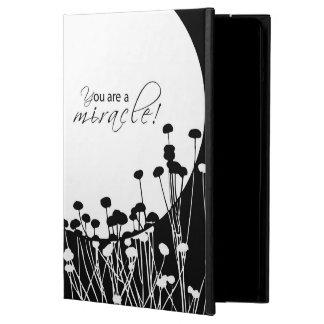 Funda Para iPad Air Milagro de la recuperación, blanco y negro