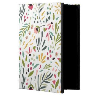 Funda Para iPad Air Modelo botánico colorido GR2 de las hojas y de