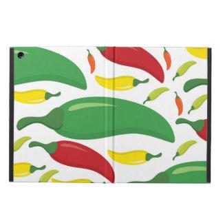 Funda Para iPad Air Modelo de la pimienta de chiles