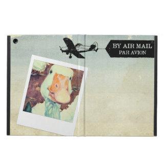 Funda Para iPad Air Moreno del ganso del correo aéreo de los E.E.U.U.