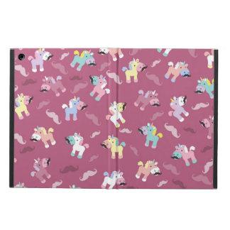 Funda Para iPad Air Mustachio Unicornio