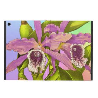 Funda Para iPad Air Orquídeas rosadas coloridas