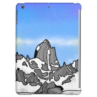 Funda Para iPad Air Paisaje de la montaña de Monte Fitz Roy