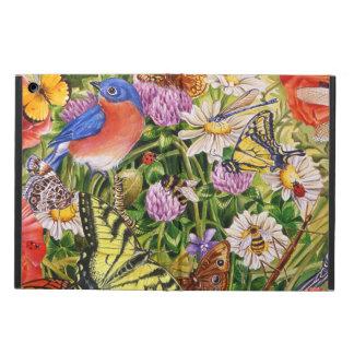 Funda Para iPad Air Pájaros, caja del aire del iPad de las mariposas