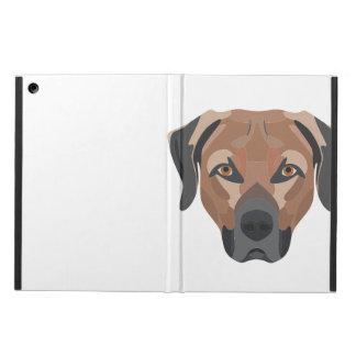 Funda Para iPad Air Perro Brown Labrador del ilustracion