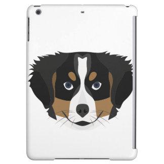 Funda Para iPad Air Perro de montaña de Bernese del ilustracion