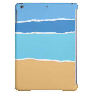 Funda Para iPad Air Playa, mar y cielo abstractos