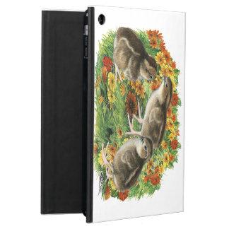 Funda Para iPad Air Polluelos del jardín de la codorniz