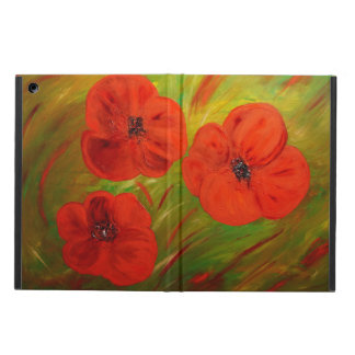 Funda Para iPad Air poppies
