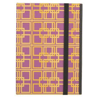 Funda Para iPad Air Princesa real Pattern Design del oro púrpura