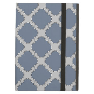 Funda Para iPad Air quatrefoil Azul-gris