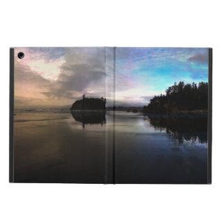 Funda Para iPad Air Reflexión de rubíes de la puesta del sol de la