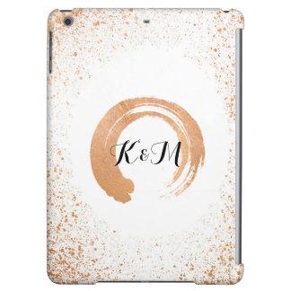 Funda Para iPad Air regalos de cobre de la colección del boda del