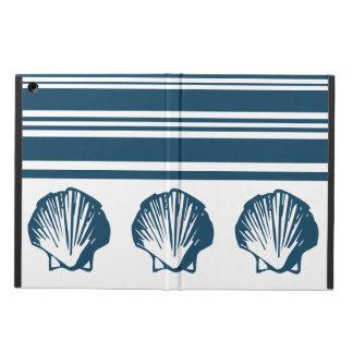 Funda Para iPad Air Seashells y rayas