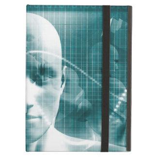 Funda Para iPad Air Tecnología futurista de la ciencia médica como