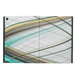 Funda Para iPad Air Tema abstracto 1 de la colección de la turquesa