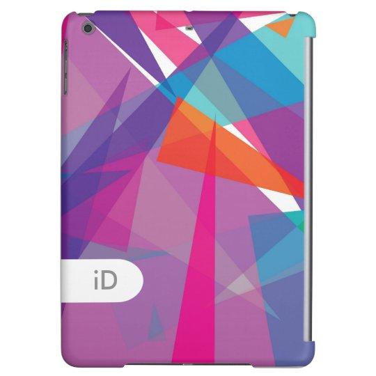 Funda Para iPad Air Triángulos coloridos abstractos modernos del JAZZ