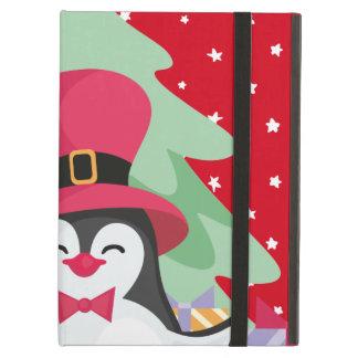 Funda Para iPad Air Un pingüino festivo - 1