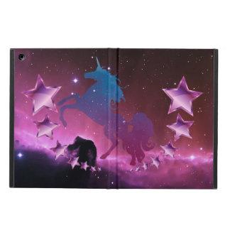 Funda Para iPad Air Unicornio con las estrellas