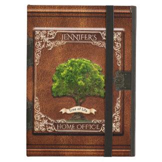 Funda Para iPad Air Vieja mirada de cuero del libro de la antigüedad