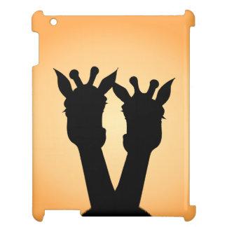 Funda Para iPad Amor de la jirafa