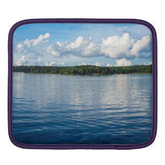 Funda Para iPad Archipiélago en la costa de mar Báltico en Suecia