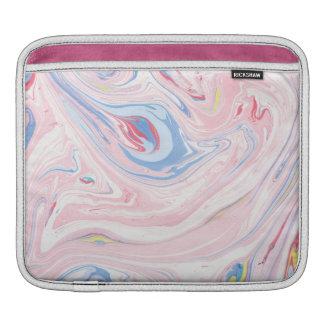 Funda Para iPad Arte moderno elegante en colores pastel del mármol