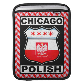 Funda Para iPad Caso americano polaco del iPad de Chicago
