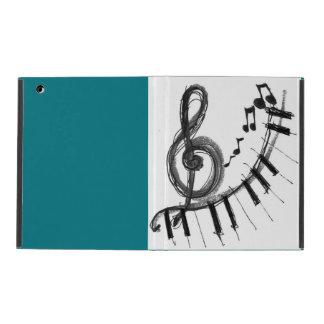 Funda Para iPad Caso de la nota de la música del iPad de Apple