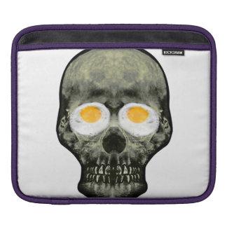 Funda Para iPad Cráneo con los ojos del huevo frito