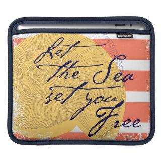 Funda Para iPad Deje el mar fijarle libre