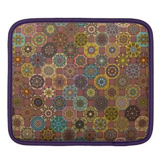 Funda Para iPad Diseño abstracto colorido del modelo de la teja