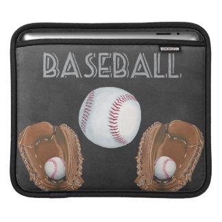 Funda Para iPad Diseño de la pizarra del béisbol del vintage