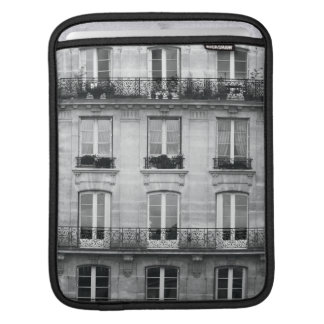 Funda Para iPad Edificio blanco y negro del vintage del viaje el |