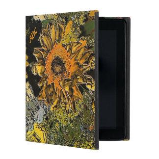 Funda Para iPad El jardín del girasol en piedra pulida