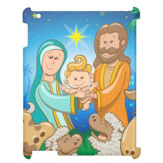 Funda Para iPad Escena dulce de la natividad del bebé Jesús