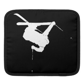 Funda Para iPad Esquiador negro y blanco