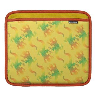 Funda Para iPad Fiesta del Gecko del arco iris